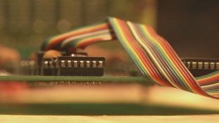 An early Apple circuit board