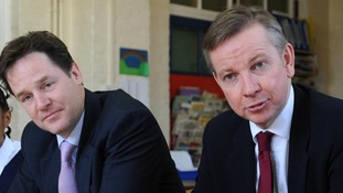 Nick Clegg and Michael Gove