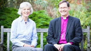 Bishop Nigel and his wife Carolyne
