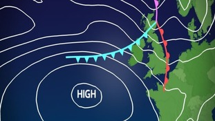 Friday weather system