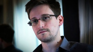 Edward Snowden is wanted by US authorities and has gone on the run