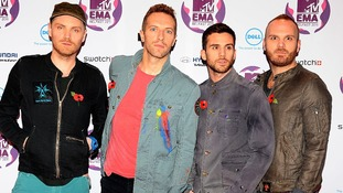 Coldplay are the most powerful British celebrities according to a Forbes list.