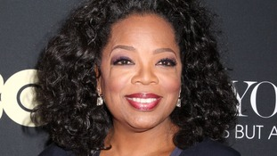 Oprah topped the list.