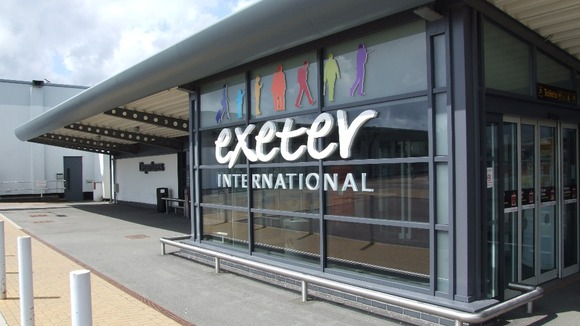 Exterior of Exeter International