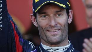 Australian Formula One driver Mark Webber.