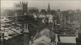 Exeter blitz damage b/w