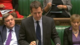 Shadow Treasury minister Chris Leslie.