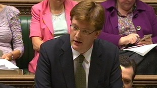 Chief Secretary to the Treasury Danny Alexander making a statement to the House of Commons.