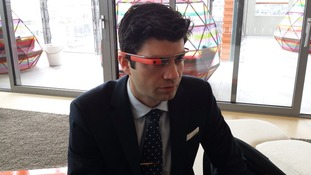 Road testing Google Glass.