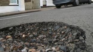 Pot holes cause motorists problems across the Meridian region
