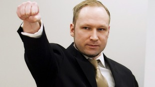 Anders Behring Breivik has been giving evidence at his trial in Oslo.