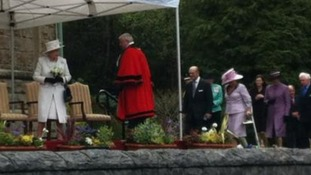 The Queen in Merthyr