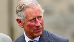 Prince Charles, is pictured in Langenburg, Germany, 27 May 2013