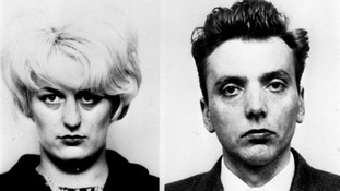Moors Murderers Myra Hindley and Ian Brady.