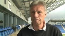 Colchester United manager John Ward