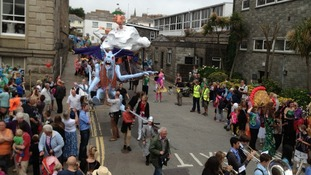 Mazey Day in Penzance