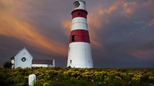 Orfordness Lighthouse.
