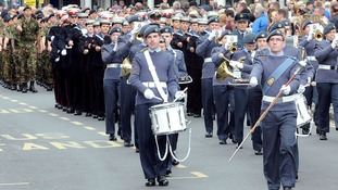 Pictures: Armed Forces Day in Nottingham