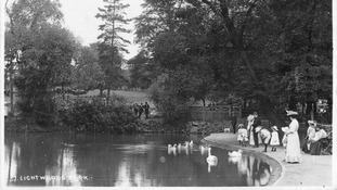 Lightwoods Park in 1908.
