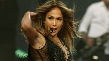 Jennifer Lopez pictured at a charity event in London last month.