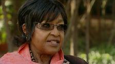 Winnie Mandela was speaking exclusively to ITV News.
