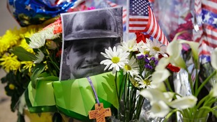 A photo of Wade Parker, one of 19 firefighters who died