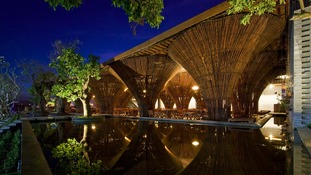The Kontum Indochine Cafe designed by Vo Trong Nghia Architects in Kontum City, Vietnam