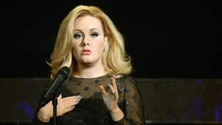 Adele waxwork joins Madame Tussauds Hall of Fame