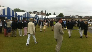People at Henley regatta