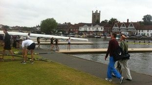 Rowing crews at Henley Regatta