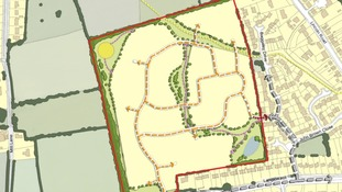 Housing development proposal in Horncastle