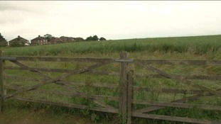 Langton Hill in Horncastle, site of proposed new housing development