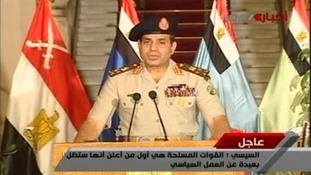 General Abdel Fattah al-Sisi.
