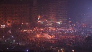 Tahrir Square in central Egypt
