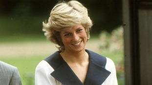 Princess Diana's iconic 1980s dresses go on display
