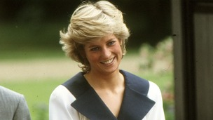 Princess Diana in 1987