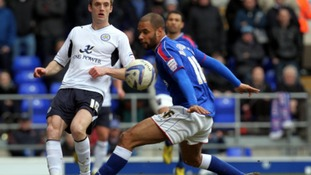 David McGoldrick has returned to Portman Road