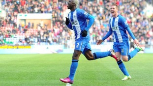 Newcastle have been given permission to speak to Wigan striker Arouna Kone.