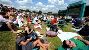 Scorching weekend for Wimbledon finals