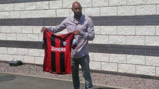 West Bromwich Albion player Youssouf Mulumbu tweeted this picture.