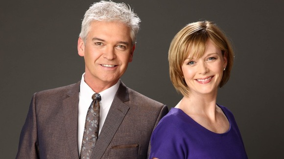Phillip Schofield and Julie Etchingham