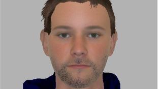 Robbery suspect e-fit