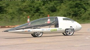 'Resolution', is the only UK entry into the World Solar Challenge