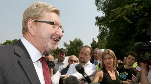 General Secretary of UNITE, Len McCluskey
