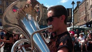 Brass musician
