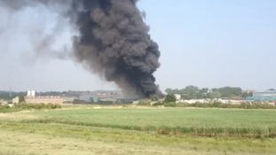 Fire in Sittingbourne