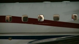 Abu Qatada is deported from Britain to to stand trial in Jordan