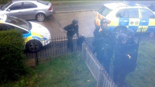 Police prepare for raid