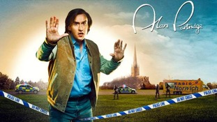 A movie poster for the movie Alan Partridge: Alpha Papa