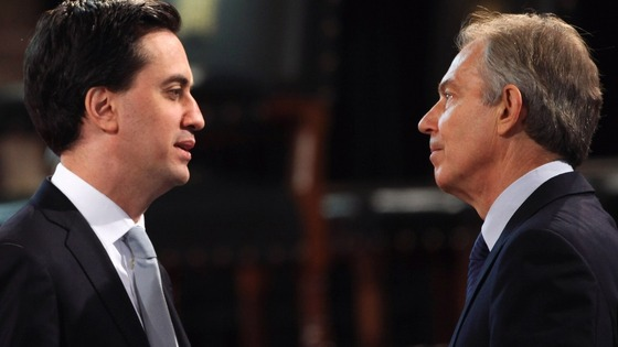 Former Prime Minister Tony Blair is supporting Labour leader Ed Miliband's proposed union reforms.